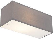 Moderno Aplique moderno rectangular gris - DRUM
