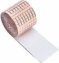 Modonghua Mini cuadrado de cristal resistente al