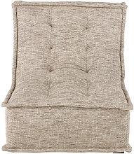 Módulo de sofá marrón