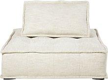 Módulo para sofá color arena