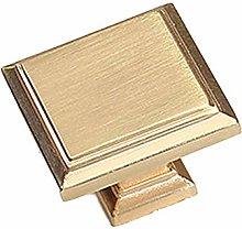 Mondern - Pomos cuadrados para muebles (1 unidad,