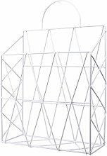 Monody - Revistero de pared de metal portátil