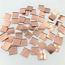 Mosaico cuadrado de 3/8 pulgadas con espejo de