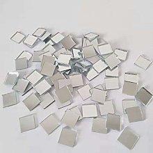Mosaico de espejo cuadrado, azulejos de mosaico de