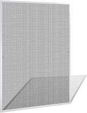 Mosquitera blanca de ventanas, 130 x 150cm Vida XL