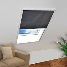 Mosquitera plisada para ventana 160 x 110cm Vida XL