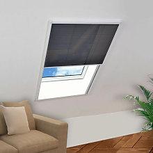 Mosquitera plisada para ventanas aluminio 80x120cm