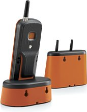 Motorola O201 Negro, Naranja Identificador De