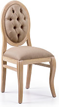 Moycor - silla bromo tapizada 45x54x105 cms