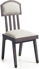 Moycor - silla spartan azul tapizada 45x45x100 cms