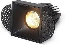 MQJ Foco de Techo Led Iluminación Empotrada de