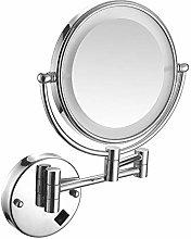 MRJ Espejo de Maquillaje con Luz led y Aumento de