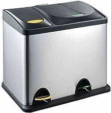 MSV 100450 - Cubo de Basura (3 Compartimentos,