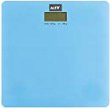 MSV Báscula de baño, Azul Pastel, 0