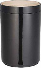 MSV Cubo DE Basura Oslo Negro Mate 5 litros