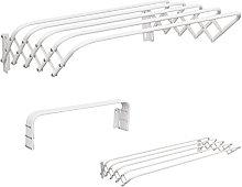 MSV Tendedero, Metal, Blanco, 100x45x19 cm
