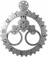 Mu Mianhua Reloj de Mesa Calendario de Pared Sala