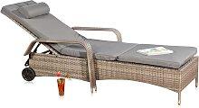 Mucola - Tumbona mueble para patio Tumbona de