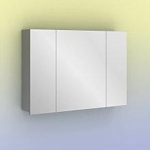 Mueble auxiliar con espejo MIDORI 98 cm de 3