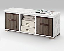 Mueble Auxiliar de almacenaje con Dos cestas para