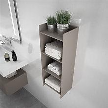 Mueble auxiliar metálico para baño ARDA Doccia