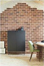 Mueble Auxiliar Punto 2P4C Verde Oscuro