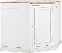 Mueble bajo esquinero de cocina con 1 puerta y