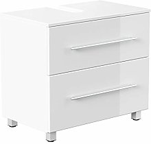 Mueble base universal con patas 70 cm Blanco