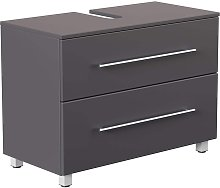 Mueble base universal con patas 85 cm Antracita