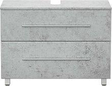 Mueble base universal con patas 85 cm Gris
