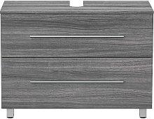 Mueble base universal con patas 85 cm Roble