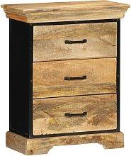 Mueble con cajones 60x30x75 cm madera maciza de