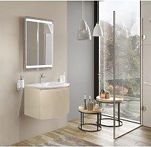 Mueble de baño 60 cm Venere de madera Crema con
