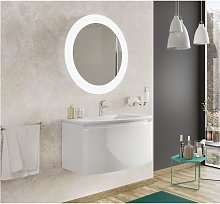 Mueble de baño 80 cm Venere en madera blanca