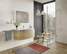 Mueble de baño 80 cm Venere en madera roble