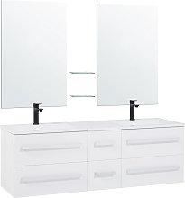 Mueble de baño blanco MADRID
