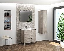 Mueble de baño Cervino 2 de Coycama con patas