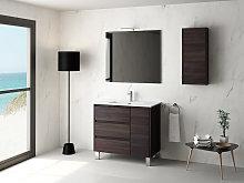 Mueble de baño Cervino 3 de Coycama con patas
