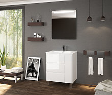 Mueble de baño Cervino de Coycama con patas