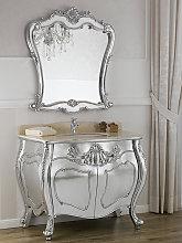 Mueble de baño con espejo Anderson estilo Barroco
