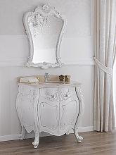 Mueble de baño con espejo Anderson estilo Shabby