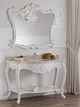 Mueble de baño con espejo Eleonor estilo Shabby