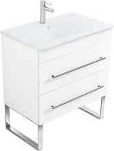 Mueble de baño con patas Casa Infinity 750 Blanco