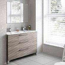 Mueble de baño de Avila dos Carmen I con patas 3