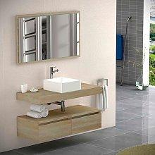 Mueble de baño de Bruntec Noa encimera + cajonera
