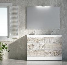 Mueble de baño de Campoaras Aqua con patas o