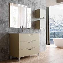 Mueble de baño de Campoaras Luna con patas 3