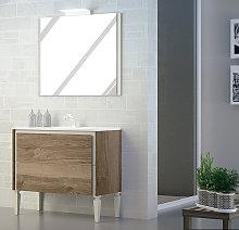 Mueble de baño de Campoaras Tanit con patas 2