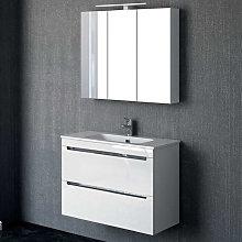 Mueble de baño fondo reducido 39 cm Torvisco Loa