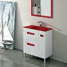 Mueble de baño fondo reducido 39 cm Torvisco Sena